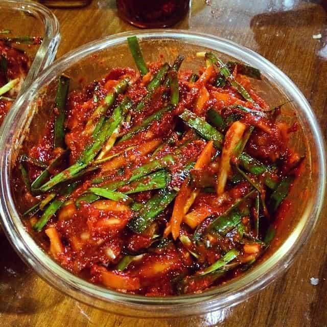 Home made Kimchi