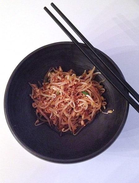 Kongnamul-muchim (Soybean sprouts side dish)