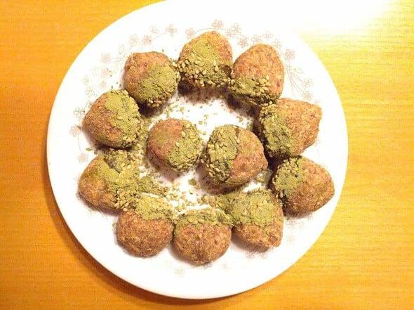 Yul-lan (Korean chestnut cookies)