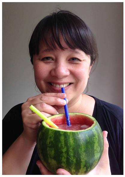 My private subak-soju cocktail!