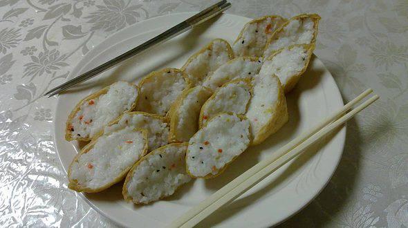稲荷寿司 == 유부 초밥