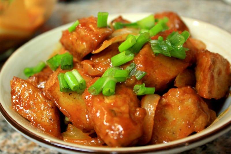 Recipe Of Korean Fish Cake: Korean Food Photo: Olivia's Spicy Fish Cake