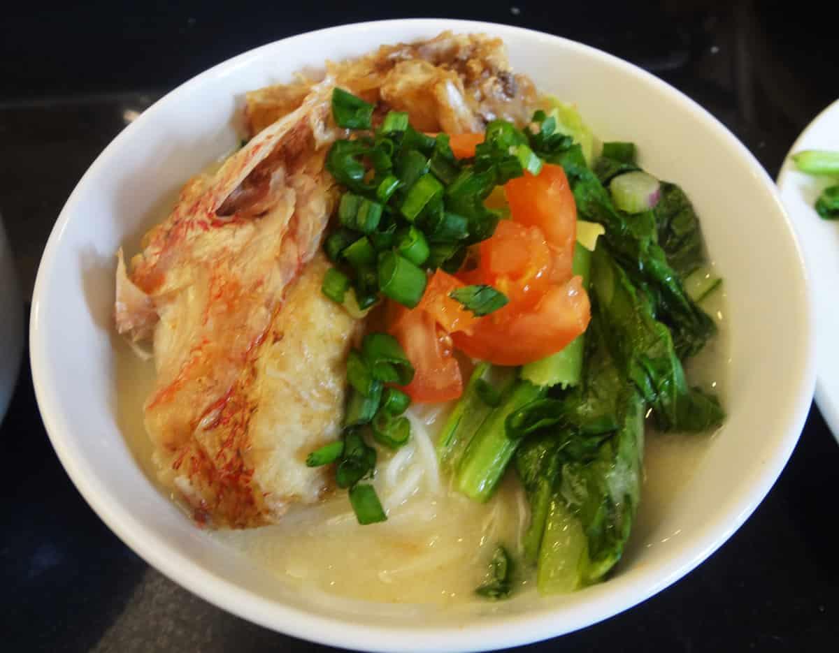 Fish head mee hoon recipe for Fish head soup recipe