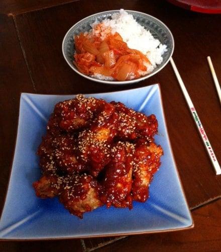 Korean-fried-chicken