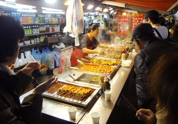 korean snack bar