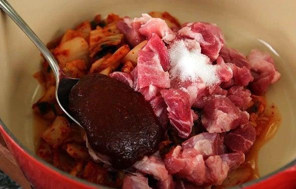 kimchi soup