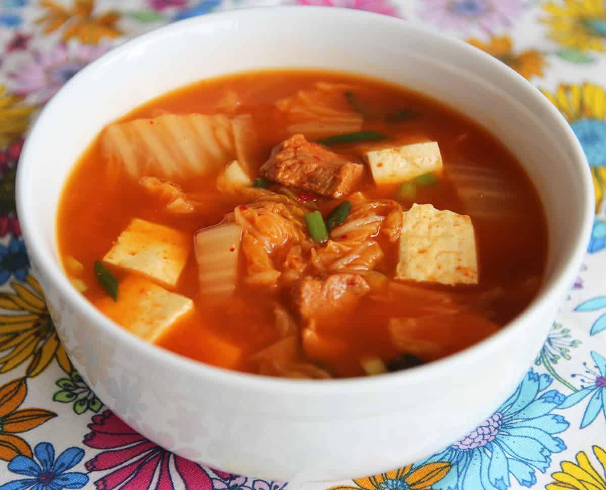 Easy korean recipes soup
