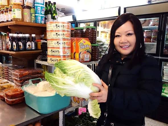 Korean grocery store