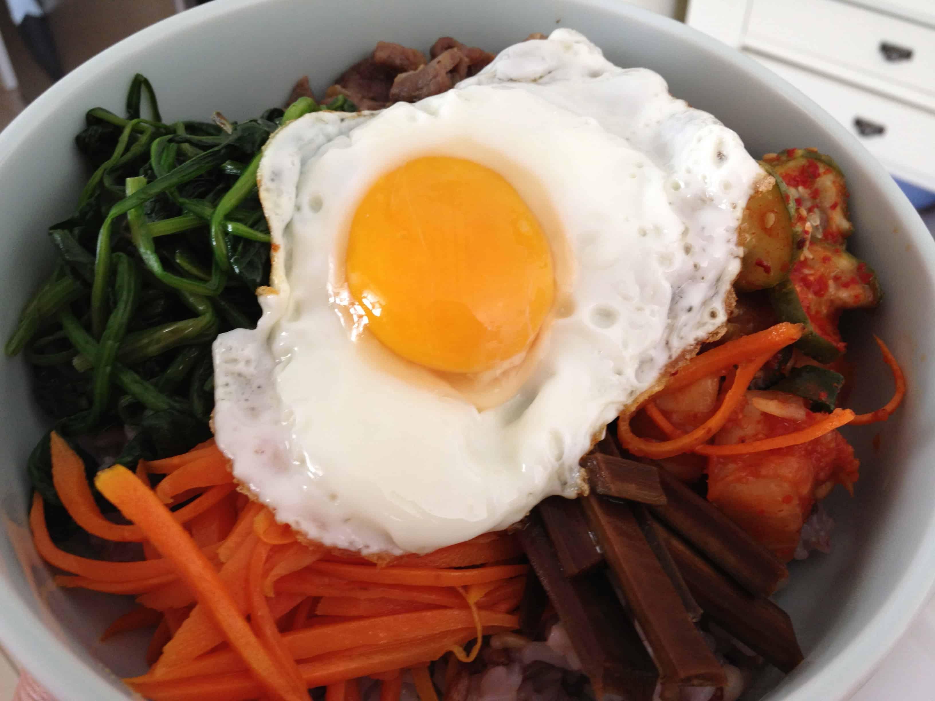 Korean food photo: Bulgogi Bibimbap - Maangchi.com