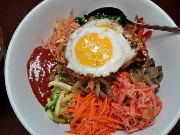 how to make bibimbap korean food