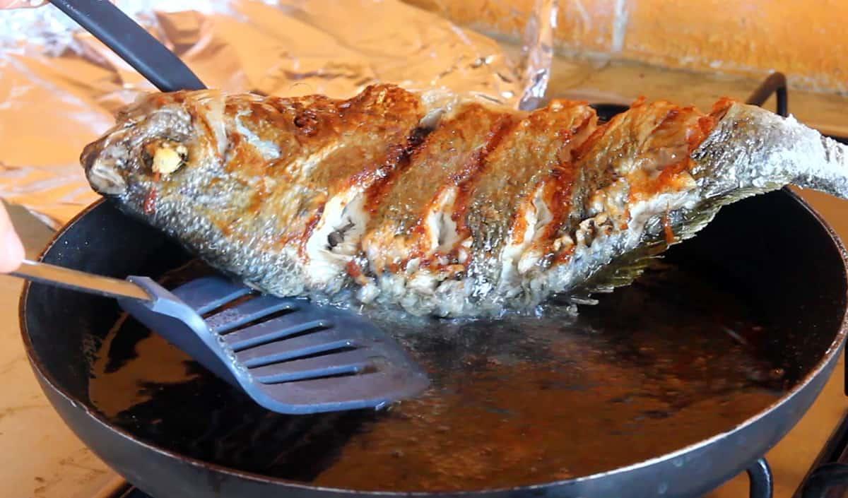 Fried Snapper With Seasoning Sauce Domi Yangnyeom Gui