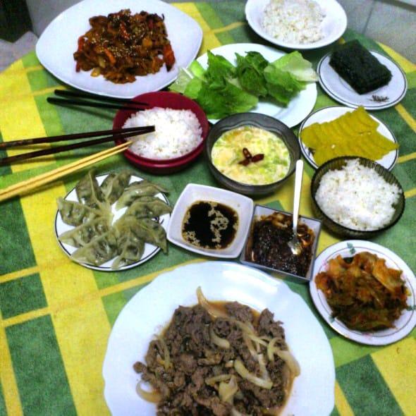 korean-dinnger