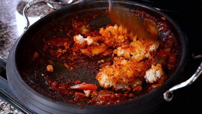 stir-fried rice (bokkeumbap)