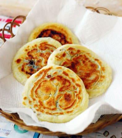 Korean food photo: Hotteok - Maangchi.com Hoddeok Recipe