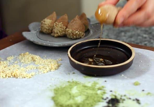 chestnut cookies (yullan: 율란)