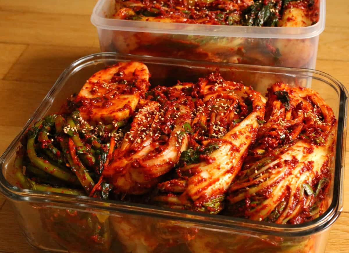 Korean food photo: Gimjang-Kimchi! - Maangchi.com