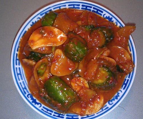 Cucumber banchan