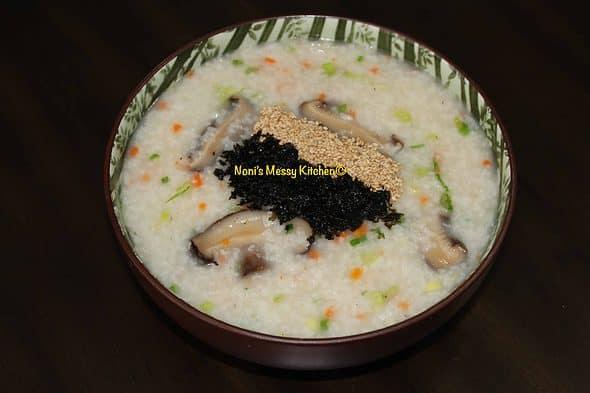 전복죽 Jeonbokjuk Abalone Porridge