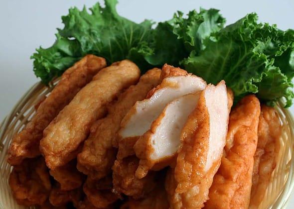 Korean fish cakes (Eomuk: 어묵)