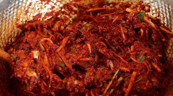 kimchi paste