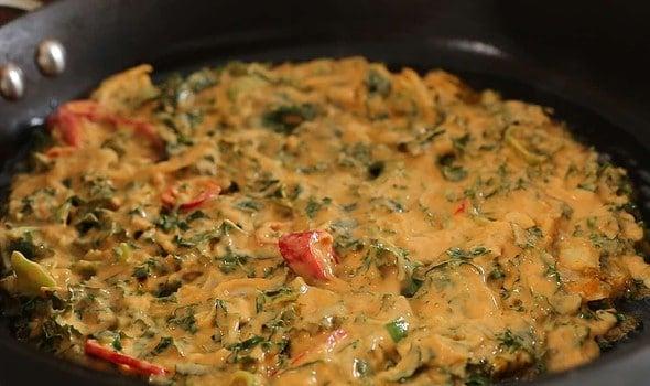 kale-jangtteok (케일장떡)