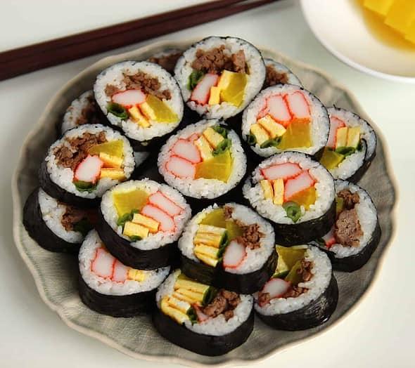 gimbap (김밥)