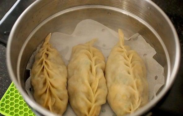 steamed kimchi king mandu
