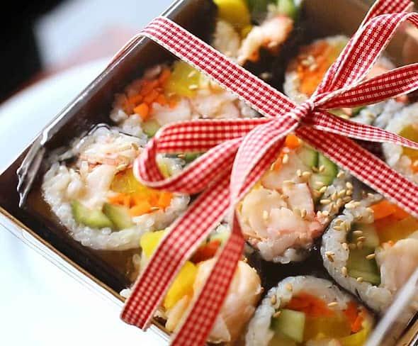 lobster-gimbap-dosirak