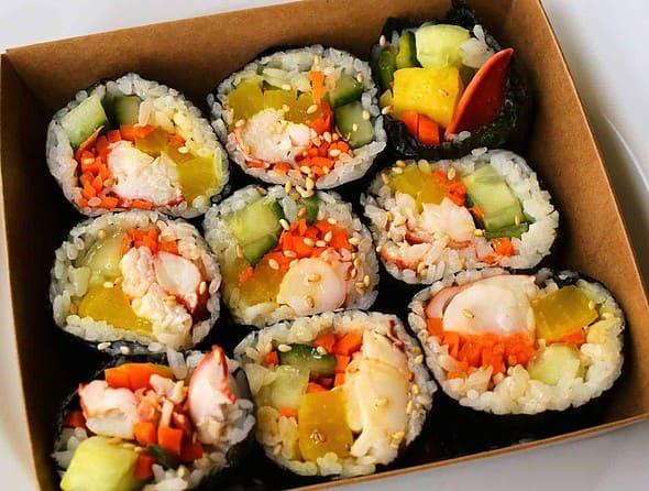 lobster-kimbap (랍스터 김밥)