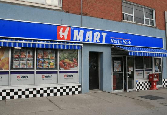 H Mart, North York, Ontario Canada