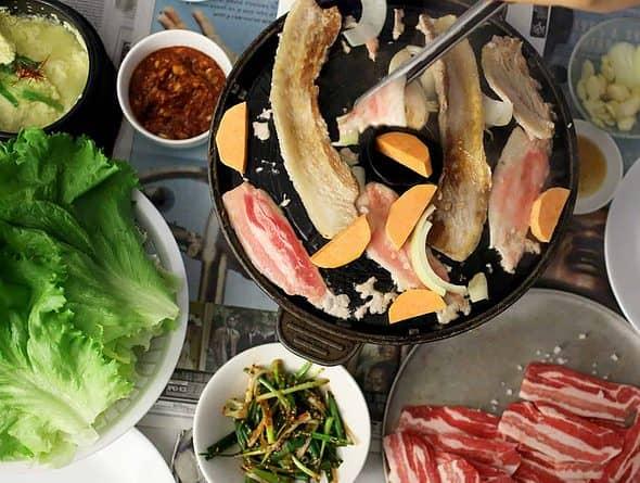 Korean BBQ pork belly