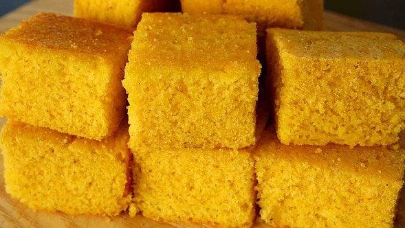 cornbread (oksusuppang: 옥수수빵)