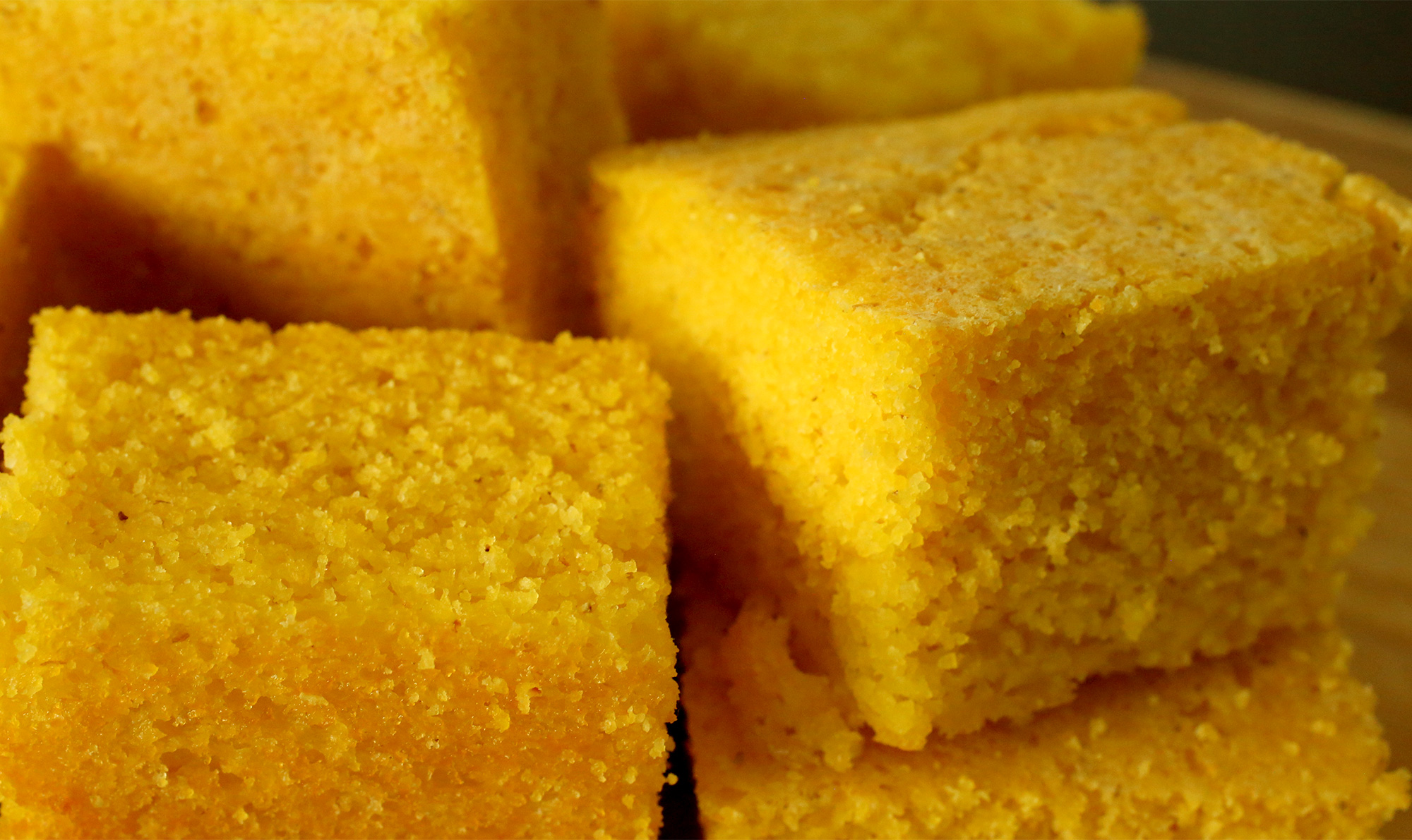 Corn Bread Yellow Cake