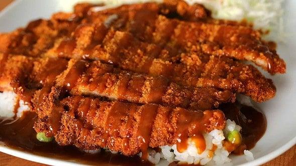 Pork cutlet (donkkaseu: 돈까스)