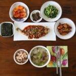 "Korean ""bapsang"" table setting"