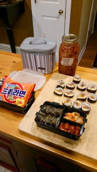 gimbap (kimbap: 김밥)
