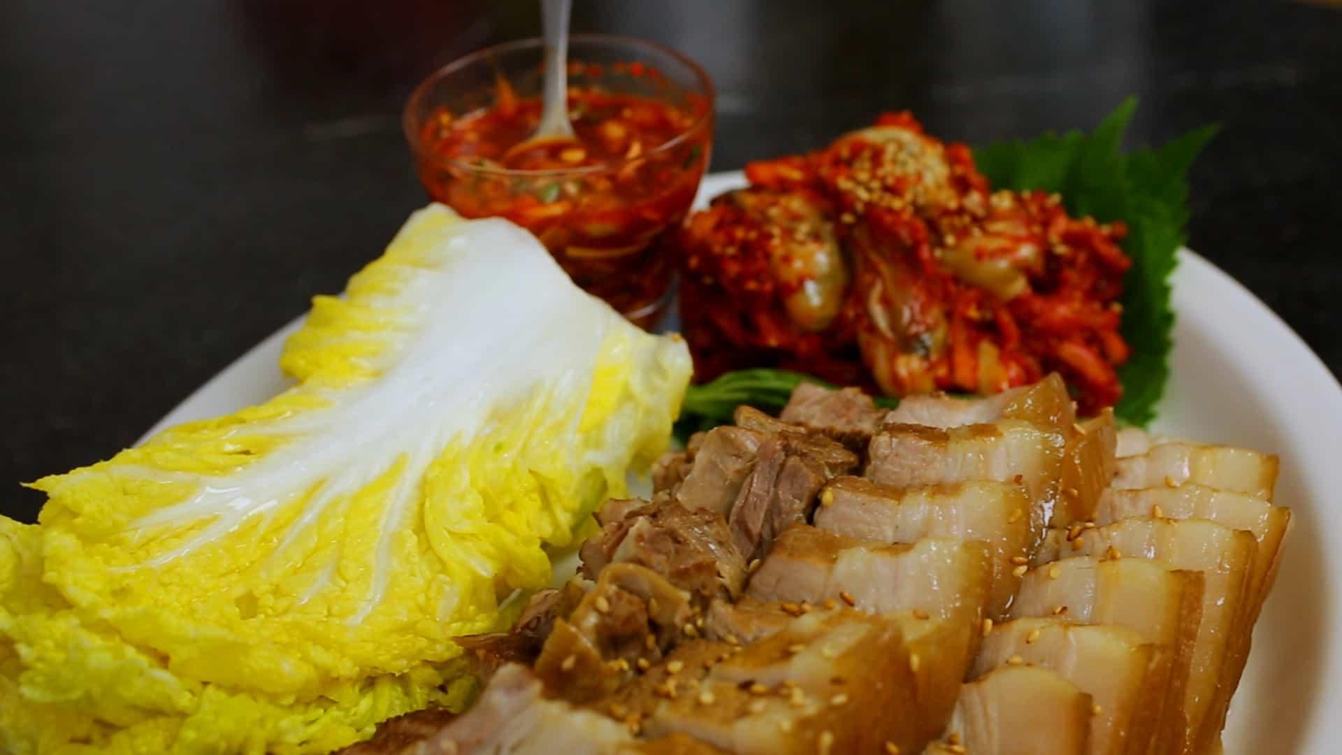 Pork wraps (Bo-ssam) recipe - Maangchi.com