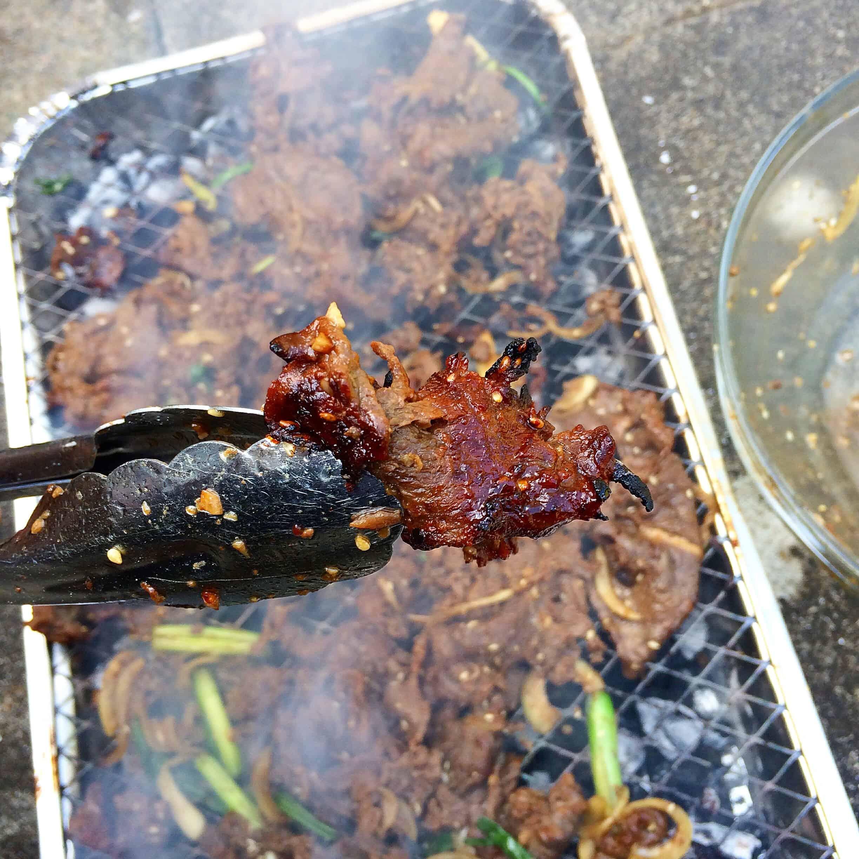 Korean food photo: Bulgogi BBQ! - Maangchi.com