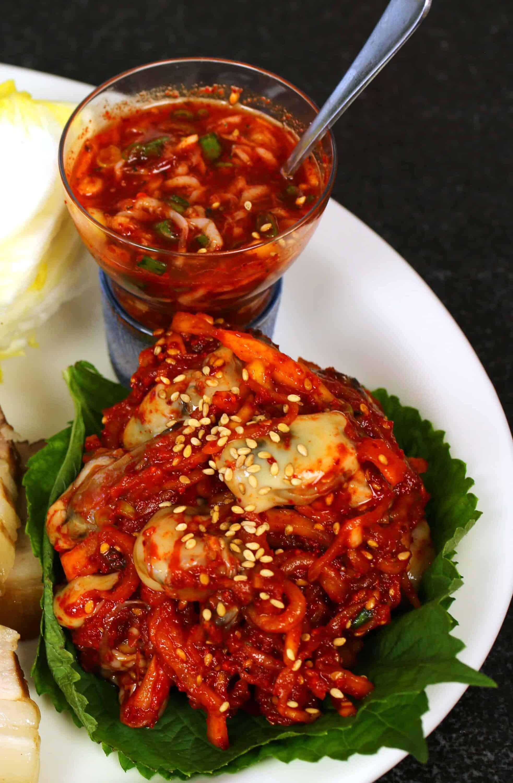 Bossam Pork Wraps For Shrimp Sauce