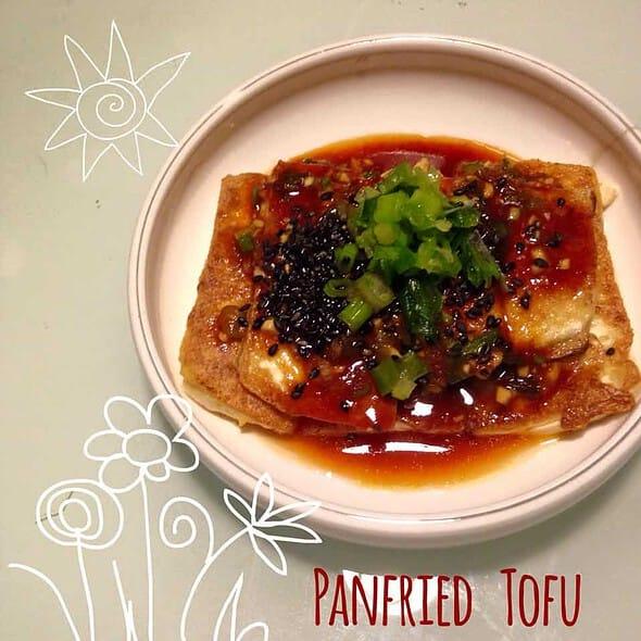 Panfried Tofu with Spicy Seansoning (Dububuchim-yangnyeomjang)