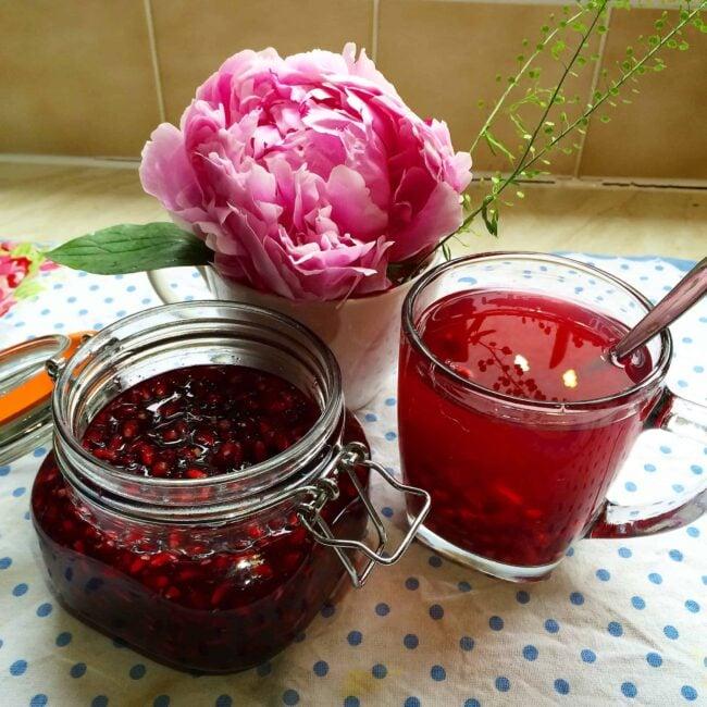 Pomegranate tea : )
