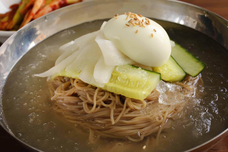 Korean food photo: Naengmyeon time! - Maangchi.com