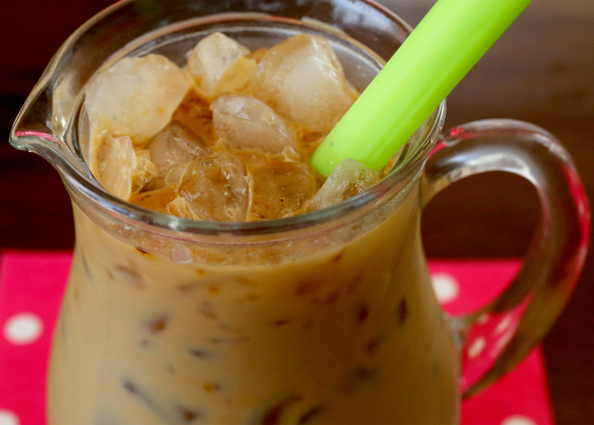 Iced coffee (Naeng-keopi) recipe