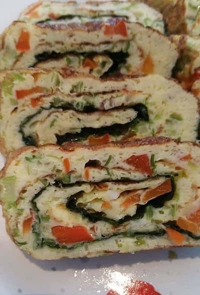 Rolled omelette sidedish - Gyeranmari - 계란말이