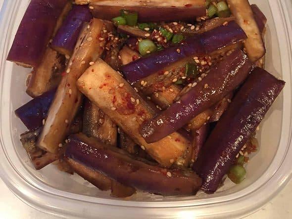 Eggplant banchan