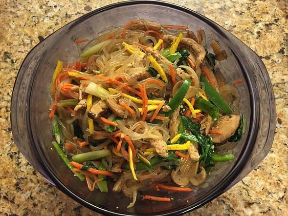 My healthy Korean meal!