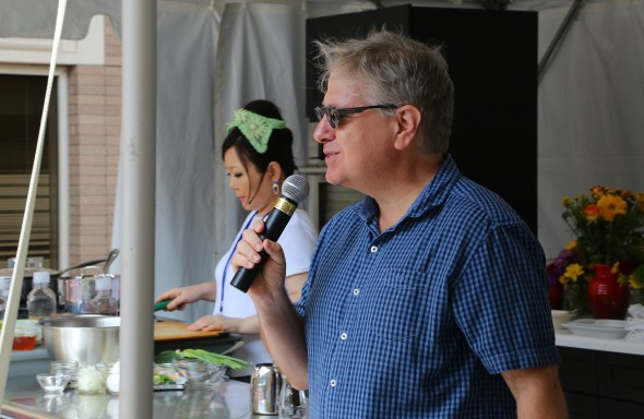 John Kessler at the Decatur Book Festival