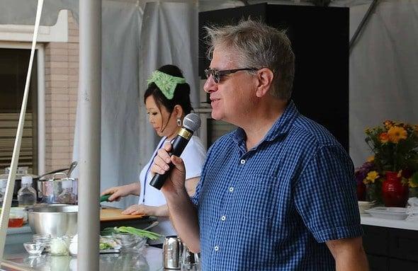 John Kessler at the Decatur Book Festival