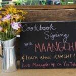 Maangchi book signing