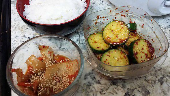 Kimchi & oi-muchim